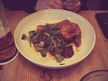 Jamie Oliver's Fifteen duck kurczak