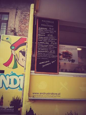 andrus menu food truck
