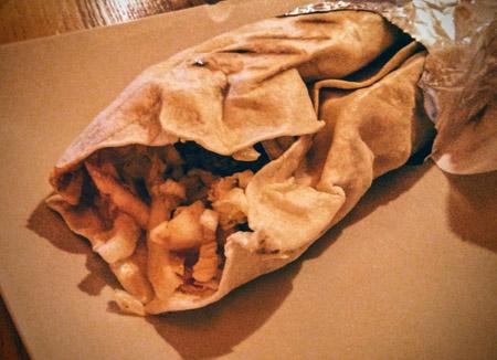 Grill Bar Laila kebab tortilla