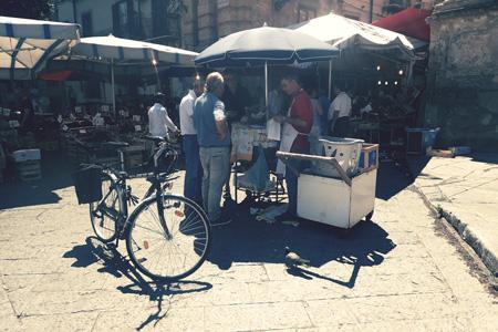 Palermo frittola stoisko
