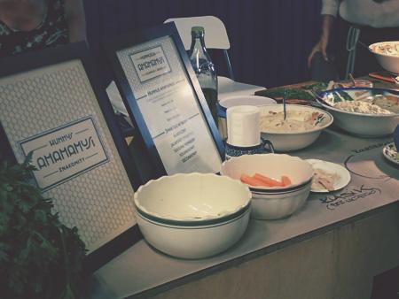 Wege Festiwal Foodtruck Hummus Ammamusi