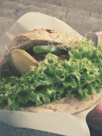 Wege Festiwal Foodtruck burger