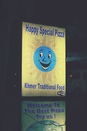Kambodża Happy Special Pizza Thai Khmer 154