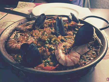 Restauracja El Toro paella