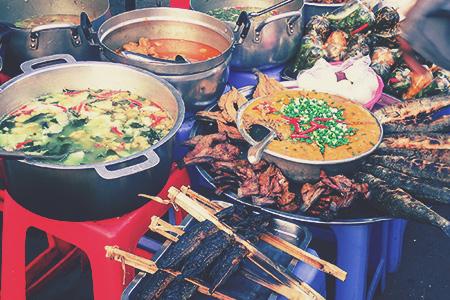 Kambodża Jedzenie Zupy