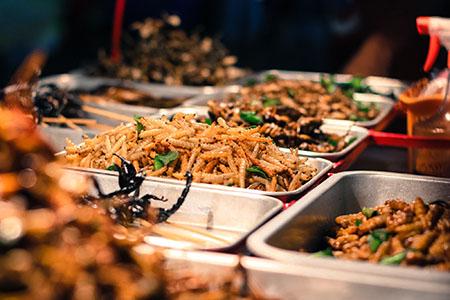 Tajlandia: TIPS & TRICKS Khao San Road (Bangkok) robaki koniki polne larwy skorpiony